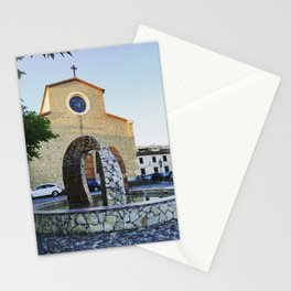 City Center - Prato - Tuscany Stationery Cards
