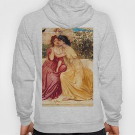 "Simeon Solomon ""Sappho and Erinna in a Garden at Mytilene"" Hoody"