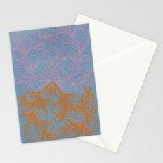 Beige and Orange Stationery Cards
