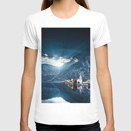 hallstatt in austria T-shirt
