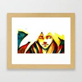 Glare Framed Art Print