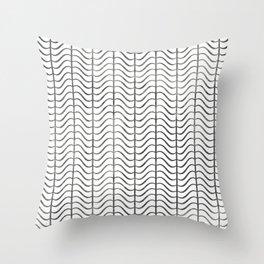 Speed Bumps Throw Pillow