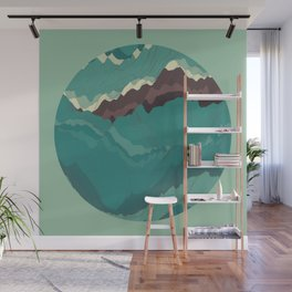 TOPOGRAPHY 004 Wall Mural