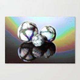 Rainballs Canvas Print