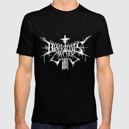 Black Lives Matter Black Metal Logo T-shirt