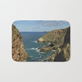 Cornish Seascape St Agnes  Bath Mat