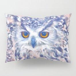Fluffy Owl Pillow Sham