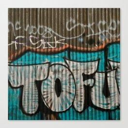 I love tofu Canvas Print