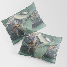alpine fish Pillow Sham