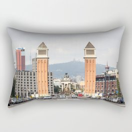 Venetian Towers Rectangular Pillow