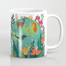 Once Destroyed Nature's Beauty Cannot Be Repurchased At Any Price Coffee Mug