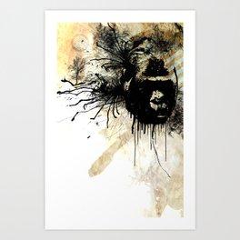 gorilla time Art Print