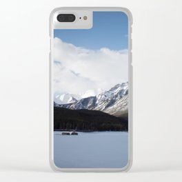 Vermilion Lakes III Clear iPhone Case