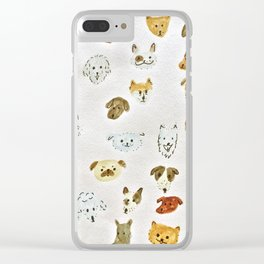 Man's best friend Clear iPhone Case