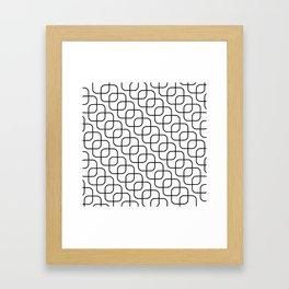 kaskada (white) Framed Art Print