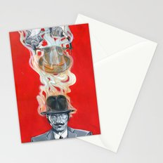 Monkey Hatter Stationery Cards