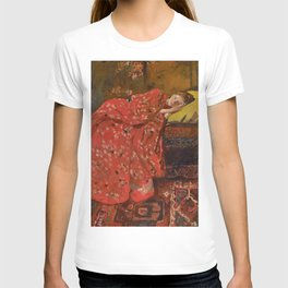 George Hendrik Breitner - Girl in a Red Kimono - Top Quality Image Edition T-shirt