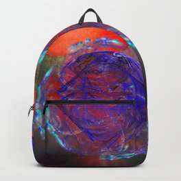 Portal to burning universe Backpack