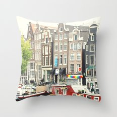 After The Rain - Amsterdam Throw Pillow