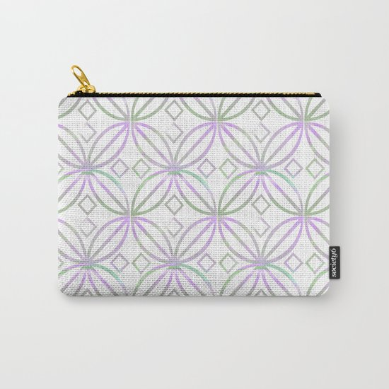 Floral Pattern - JUSTART © Carry-All Pouch