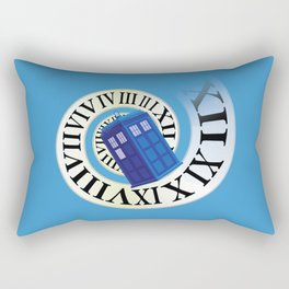 TARDIS in Time Rectangular Pillow