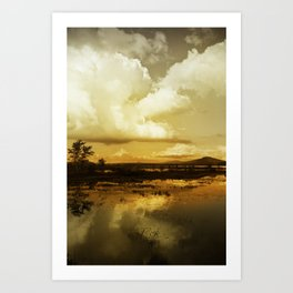 Storm Clouds Art Print