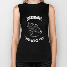 Brisbane Browncoats  T-Shirt Design 1 Biker Tank