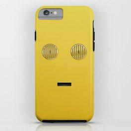 minimalist c3po iPhone Case