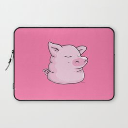 Piggy Catbear Laptop Sleeve