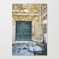 Histoire de portes IV Canvas Print