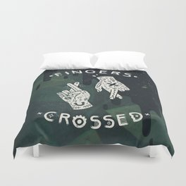 Good Luck / I'm Lying Duvet Cover