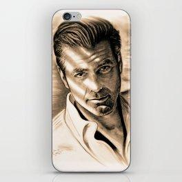 George Clooney II iPhone Skin