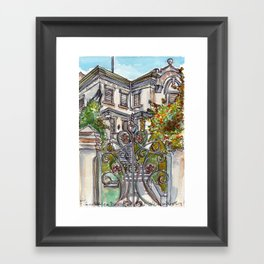 House on Vasco Da Gama Framed Art Print