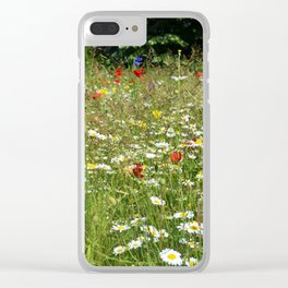 Cambridge in bloom Clear iPhone Case