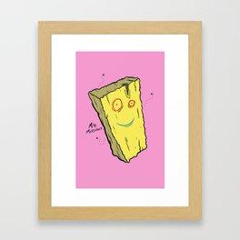 Plank from Ed, Edd, n' Eddy Framed Art Print