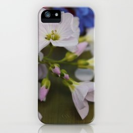 In the month of.. iPhone Case