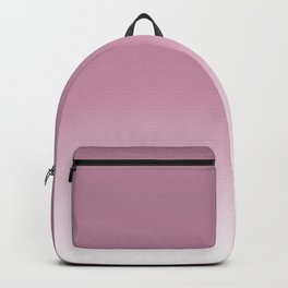 Smoky pink ombre . Backpack
