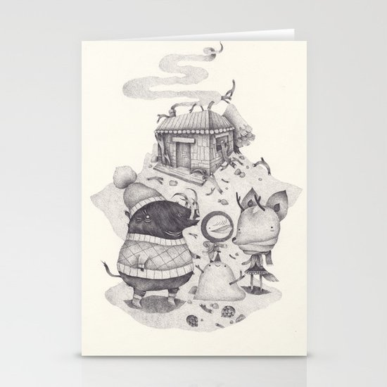neige Stationery Cards