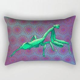 Praying Mantis Rectangular Pillow