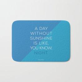 A Day Without Sunshine. Bath Mat