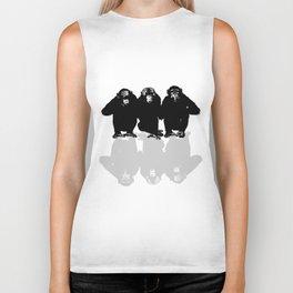 3 Monkeys Biker Tank