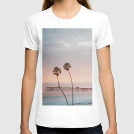 palm trees sunset ii / san clemente, california T-shirt