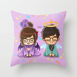 002 : Japanese Happy New Year Throw Pillow