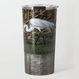 Great and Snowy Egrets, No. 2 Travel Mug