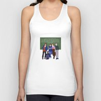 breakfast club Tank Tops featuring The Breakfast Club by Christina