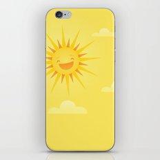 Happy Sun iPhone & iPod Skin
