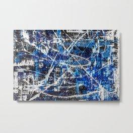 Cobalt Metal Print