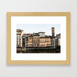 View Florence Framed Art Print