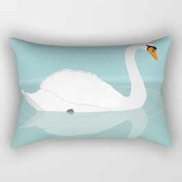 White swan Rectangular Pillow