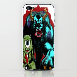 Mike & Sully... iPhone Skin